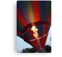Glowing Flame Canvas Print