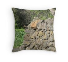 Rocks Walls Western Victoria Throw Pillow