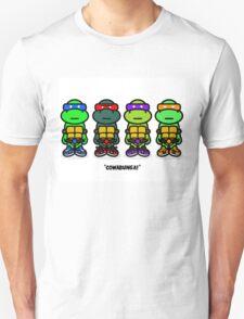 TMNT (Stickers) Unisex T-Shirt