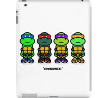 TMNT (Stickers) iPad Case/Skin