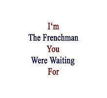 I'm The Frenchman You Were Waiting For  by supernova23