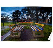 Park Benches Poster