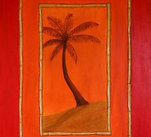 rustic palm by Paul Barralet