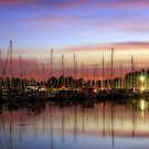 Sunset over the Marina by aussiedi