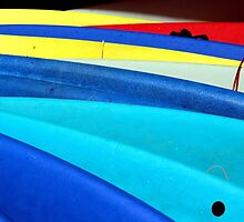 Kayaks by Kim McClain Gregal