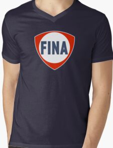 Fina Racing Fuel Mens V-Neck T-Shirt