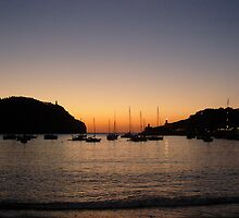 Sunset Port de Soller by Doug Cook
