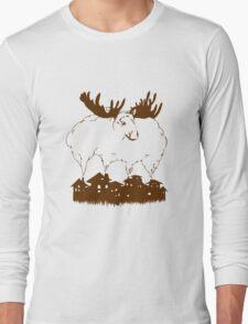 smoky moose Long Sleeve T-Shirt