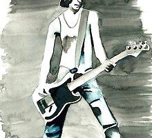 Dee Dee Ramone by Hannah Christine Nicholson