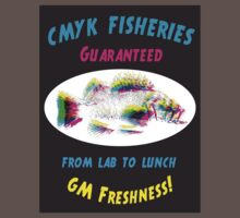 CMYK Fisheries, GM freshness from Lab to Lunch by sledgehammer