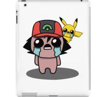 The Binding Of Isaac/Pokémon Crossover - Ash Ketchum and Pikachu (Hoenn) iPad Case/Skin