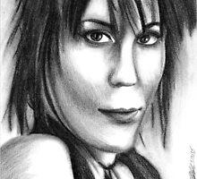 Joan Jett by Hannah Christine Nicholson