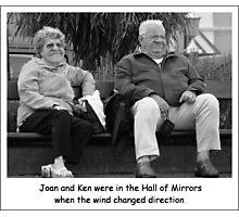 Joan and Ken Photographic Print