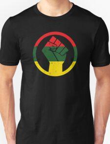 RASTA BLACK POWER FIST Unisex T-Shirt