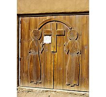 Hand Carved Church Doors Photographic Print