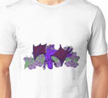 Purple Dragon at play Unisex T-Shirt