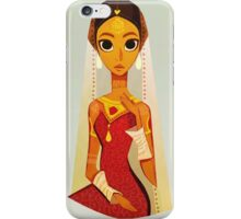Traditional bride  iPhone Case/Skin
