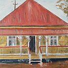 Queensland workers cottage by gillsart