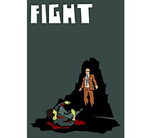 Fight. (Man v. Zombie) Photographic Print
