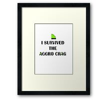 Aggro Crag from Global GUTS Framed Print