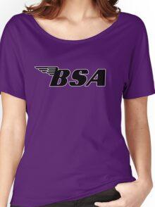 BSA Black Women's Relaxed Fit T-Shirt