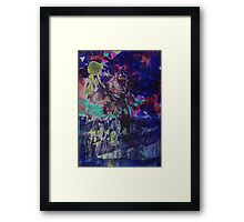 Blue Earth Framed Print