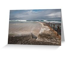 Big Surf Greeting Card