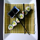 My attempt at sushi by Brent McMurry