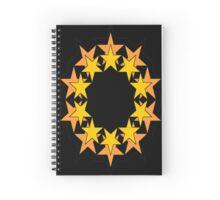 Star Wreath #1 Spiral Notebook