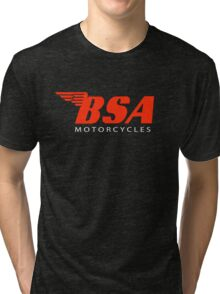 BSA Motorcycles Tri-blend T-Shirt