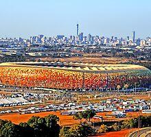 SoccerCity / FNB Stadium Johannesburg by JandeBeer