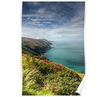North Devon Coastal Path 1 Poster