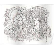 Valerie- Guadalupe & Kali Poster