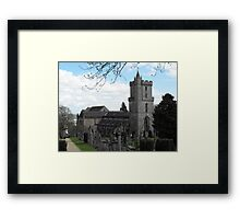 Church Of The Holy Rood, Stirling, Scotland Framed Print