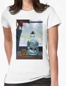 Empty Womens Fitted T-Shirt