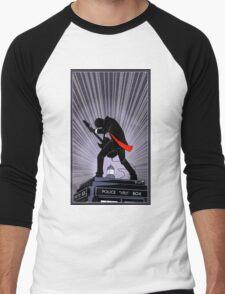 Doctor Who: Shredding Through Time Men's Baseball ¾ T-Shirt