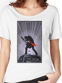 Doctor Who: Shredding Through Time Women's Relaxed Fit T-Shirt