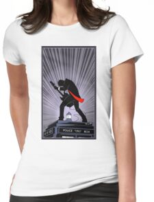 Doctor Who: Shredding Through Time Womens Fitted T-Shirt