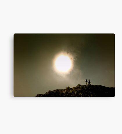 Staring at the Sun Canvas Print