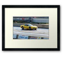Yellow Fury!!!! Framed Print