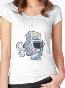 Robotictic Women's Fitted Scoop T-Shirt