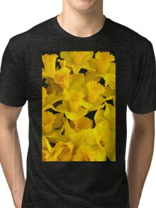 A Bunch of Daffodils Tri-blend T-Shirt