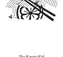 Karate Kid Movie Poster by Tupps