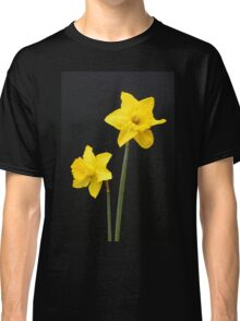 Daffodils in full bloom Classic T-Shirt