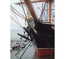 HMS Warrior figure head Photographic Print