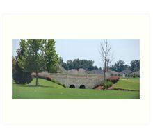 Scenic Bridge Art Print
