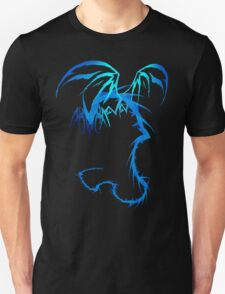 Electric Blue Dragon tattoo style T-Shirt