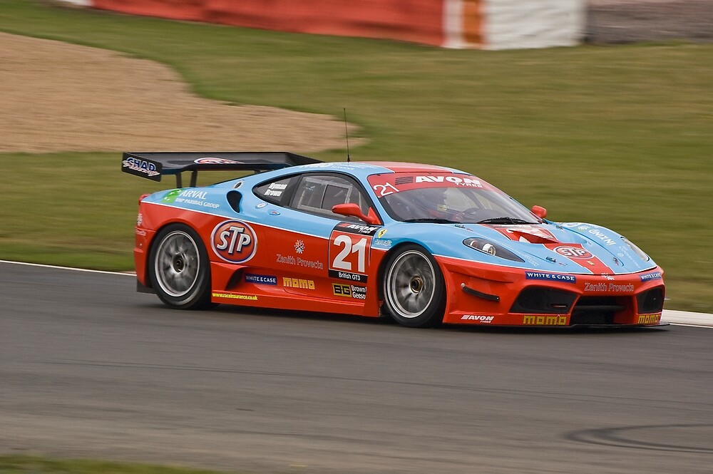 Chad Racing Ferrari No 21 by Willie Jackson