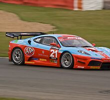Chad Racing Ferrari No 21 by Willie Jackson