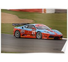 Chad Racing Ferrari No 21 Poster